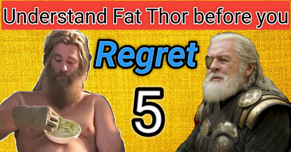 5 Reasons Why Thor got fat in Avengers Endgame Understand Fat Thor Before You Regret