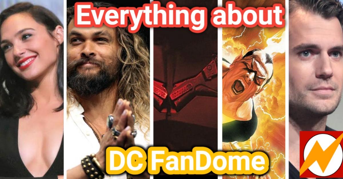 Everything Revealed The Ultimate Revelation of DC FanDome superheroera