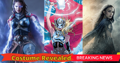 _First Look At Jane Foster's & Thor Costume Revealed