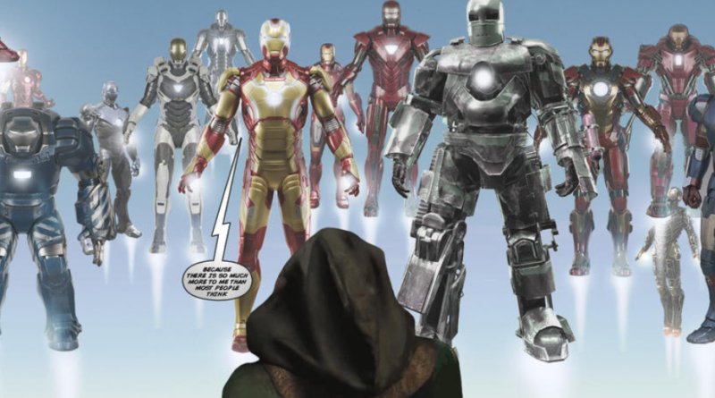 IRON MAN ARMOR Explain