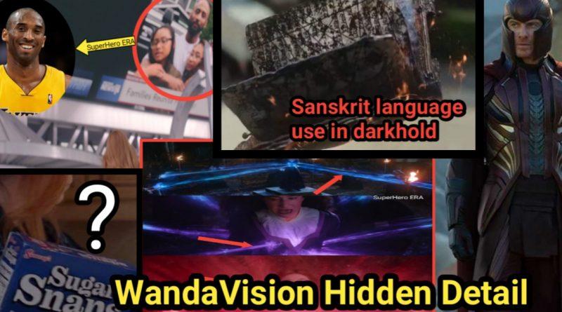 Hidden Detail I BET You Never Noticed these Details in WandaVision Show superheroera
