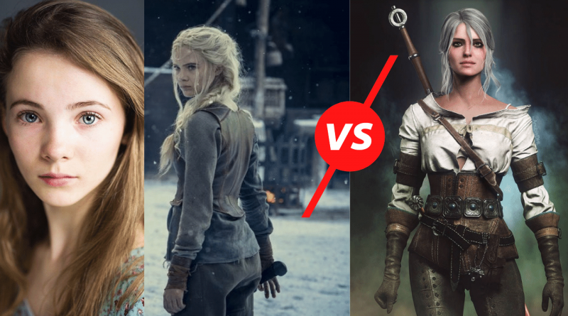 The Ciri Witcher The 6 Biggest Differences Between Ciri Game & Ciri Netflix