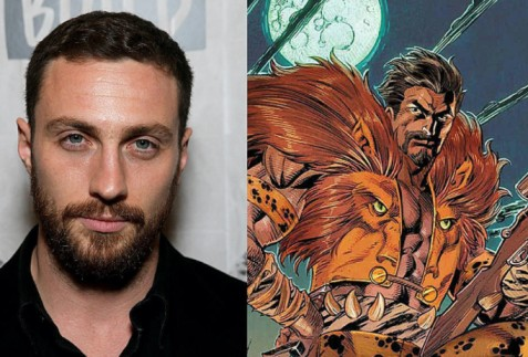 Aaron Taylor Johnson will be playing the Spiderman villain in Sony's upcoming Kraven the hunter
