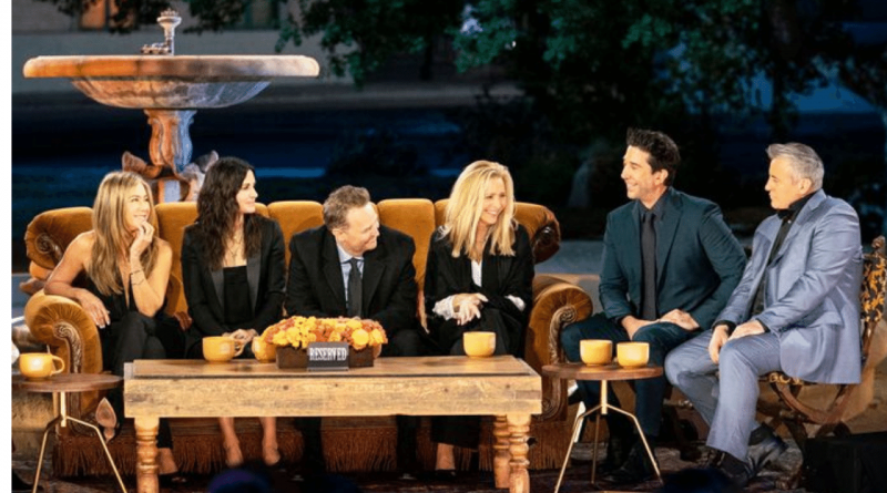 Friends The Reunion Is an Extreme Friends Zone
