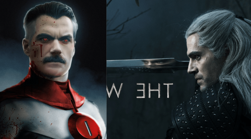 What Henry Cavill Would Look Like as Invincible's Omni-Man with His Mustache