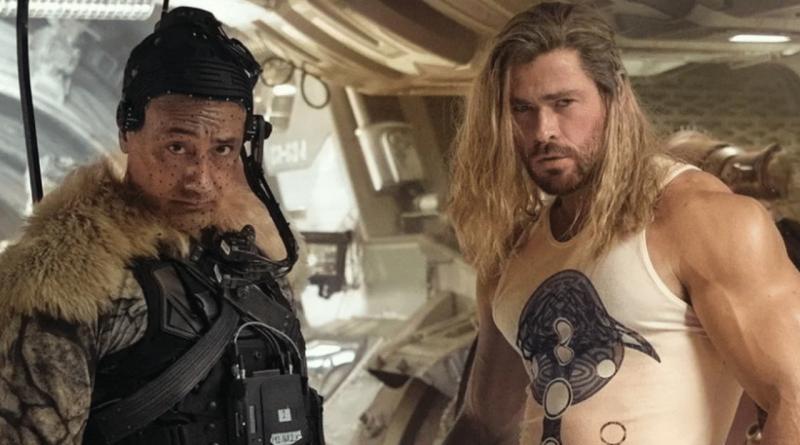 Thor 4 New set photos shows Thor's impressive physique and Taika Waititi's Korg
