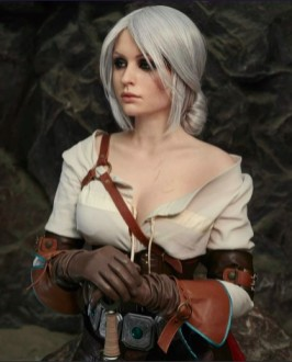 Who is a more powerful character than Geralt of Rivia in The Witcher?