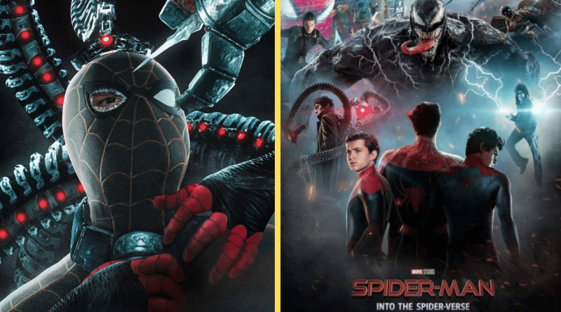 Art Pictures Spidey In His New Spider Man Suit In A fight Against Doc Ock
