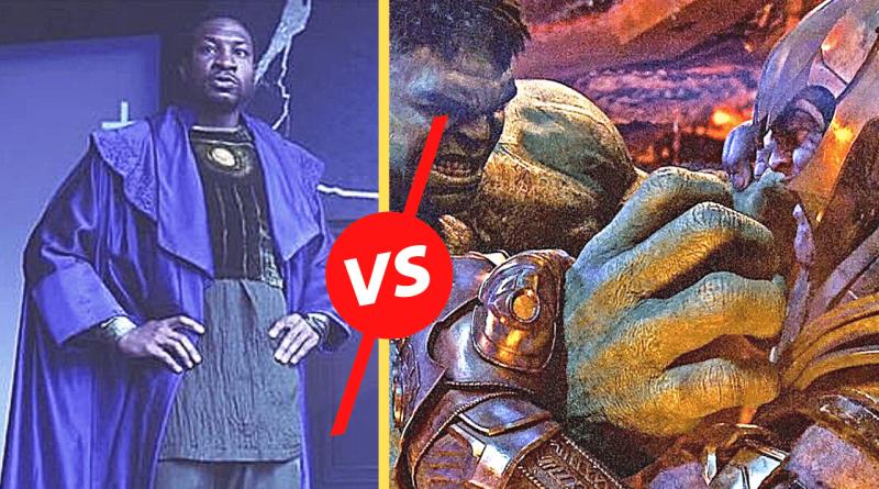 Thanos VS Kang