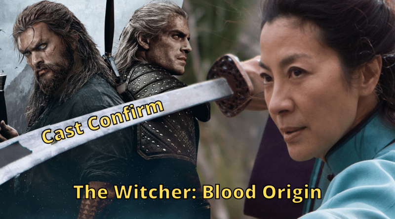 The Witcher Blood Origin adds Michelle Yeoh to its cast