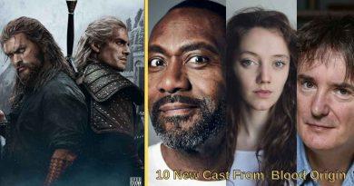 10 New Cast From Blood Origin
