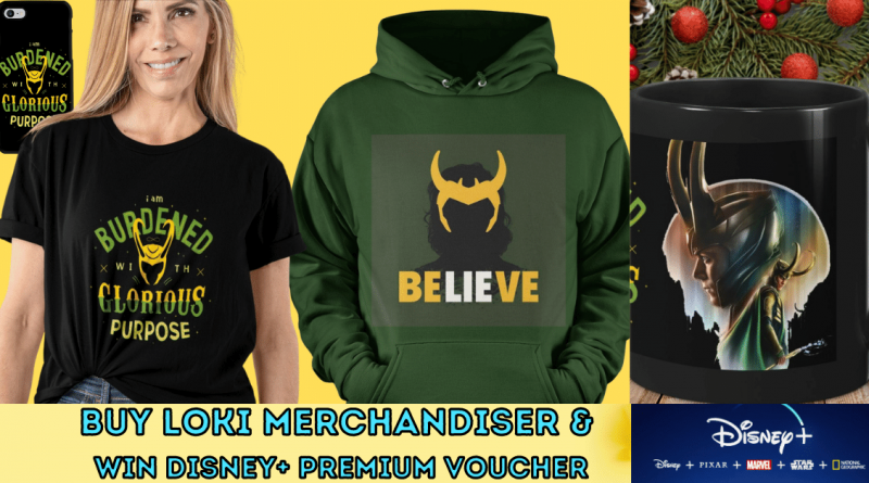 Buy Loki Merchandiser & win Disney+ Premium Voucher_
