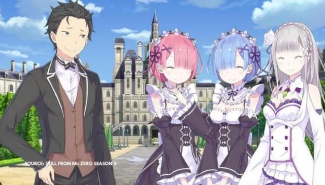 Re zero season 2 & Third Season & Rezero Manga
